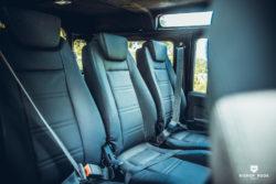 Exmoor Leather Second Row Seats – Defender
