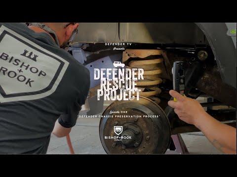 """(28) Defender TV – """"Land Rover Defender Chassis Treatment + Preservation"""" – Bishop+Rook – YouTube"""