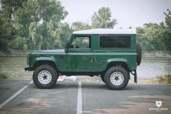 Grimes – Land Rover Defender 90 from Bishop+Rook