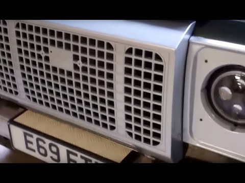 """How to fit the """"Heritage"""" front grille to a Land Rover Defender – YouTube"""