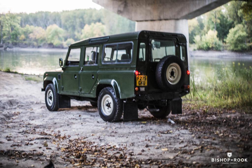 Land Rover Defender 110 – 2.5L TD – RHD – Minnesota – Bishop+Rook Tradin ...