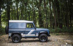 """1990 Land Rover Defender 90 – """"Blue"""" – Bishop+Rook Trading Company"""