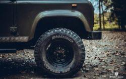 "1993 Land Rover Defender 110 – ""NATO"" – Bishop+Rook Trading Company"
