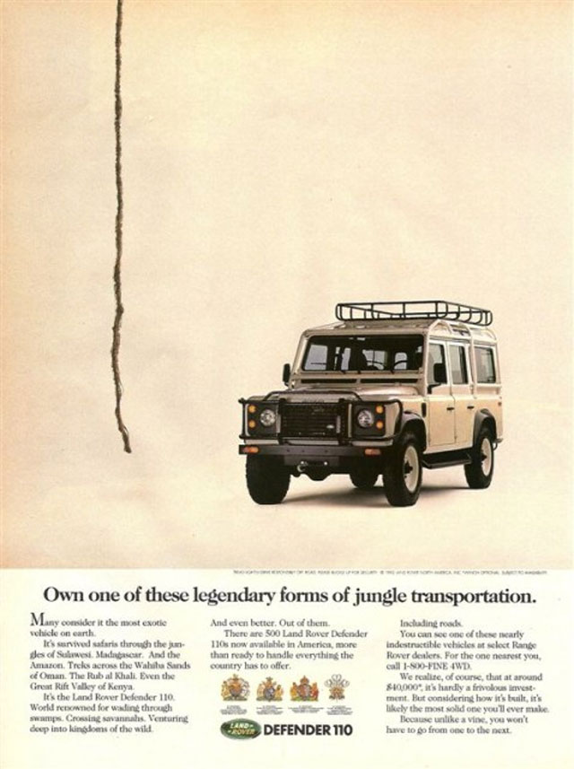 11 of the Best Land Rover Print Ads   FunRover – Land Rover blog & magazine