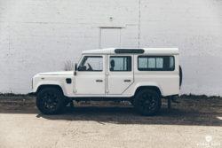 Project Skye – Heritage Land Rover Defender 110 – Bishop+Rook Trading Company
