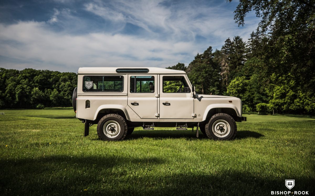 Rally Truck – Land Rover Defender 110 V8 – 1987 – Bishop+Rook Trading Company