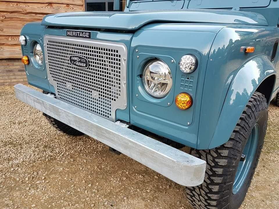 Heritage Grill – Riverhouse Mini   Heritage Blue Defender 110 200 Tdi