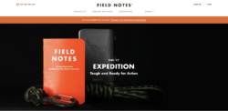 Field Notes — Expedition edition