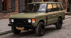 A Range Rover restomod on the mean streets of Brooklyn   Classic Driver Magazine