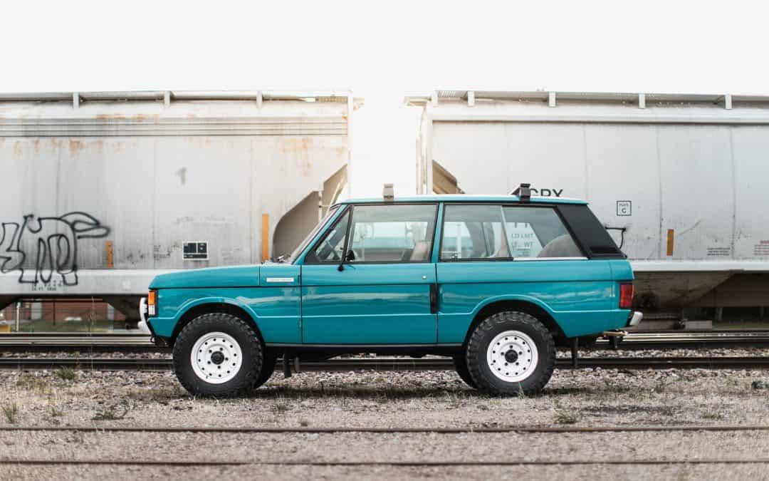 2 Door Range Rover Classic in Tuscan Blue – Congleton Service