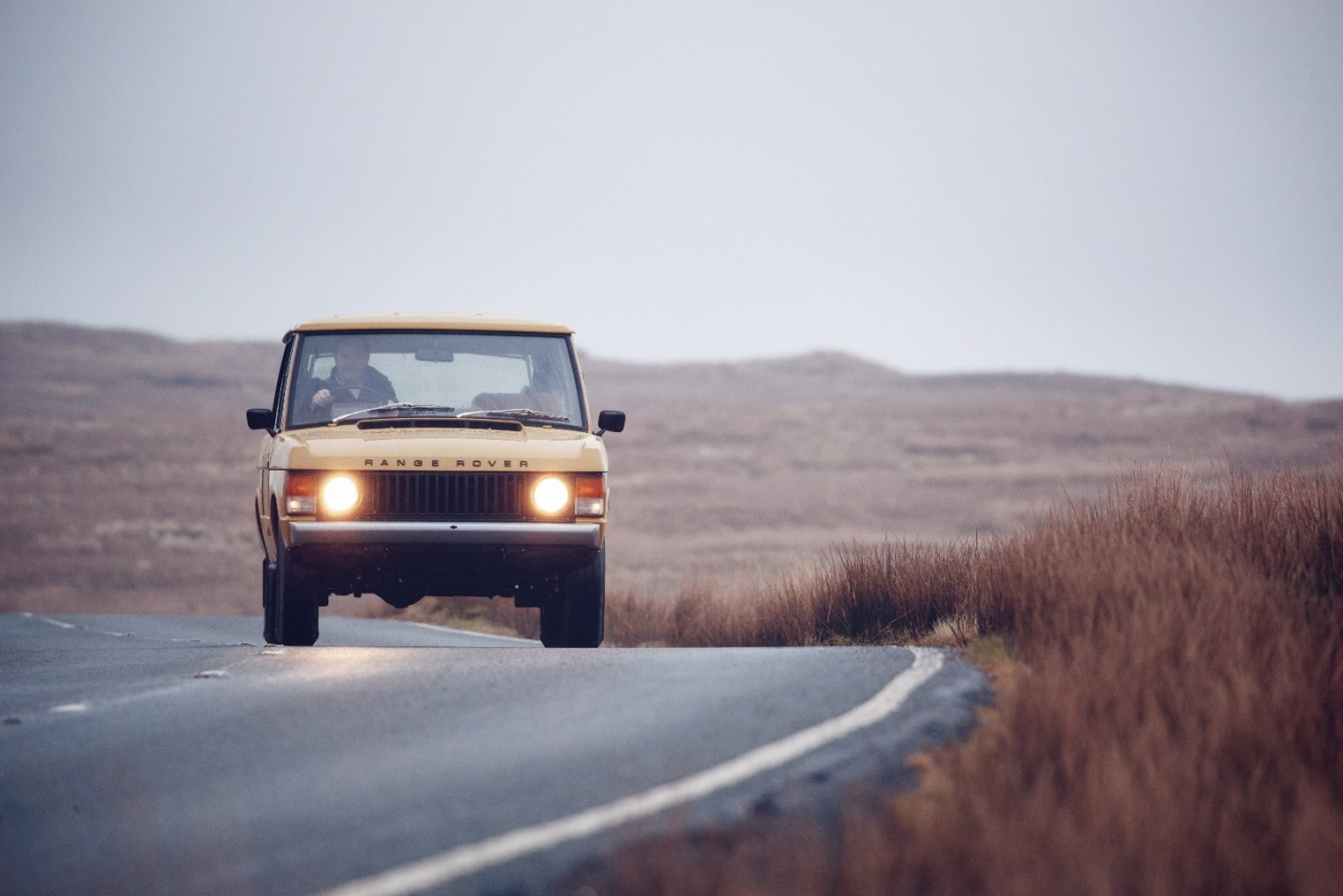 Land Rover Classic will present this Range Rover Reborn at Salon Retromobile next week