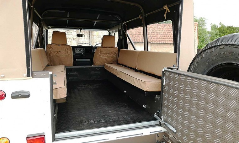 Land Rover Defender 110 2.5 n/a USA Soft Top – Nene Overland Land Rover Specialist with ov ...