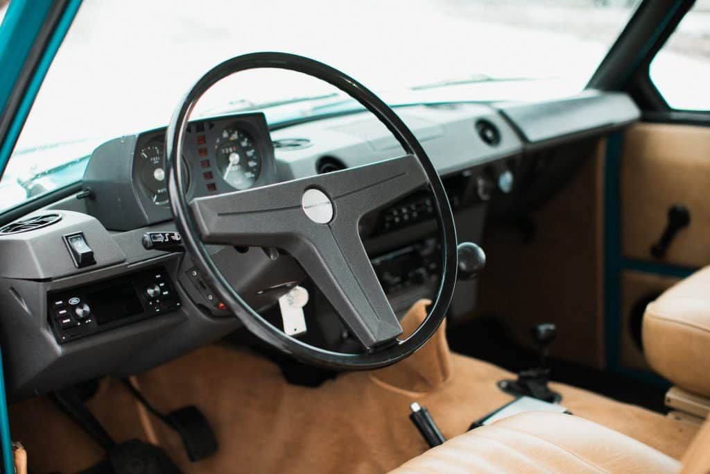 land rover Range Rover Classic interior
