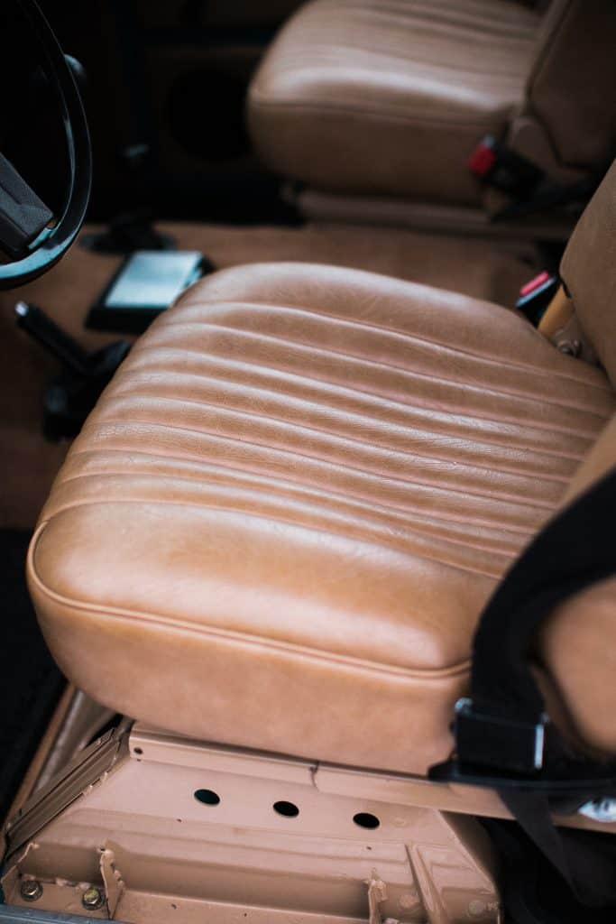 Range Rover Classic leather interior