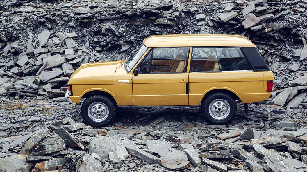 The 1978 Range Rover Classic three-door reborn